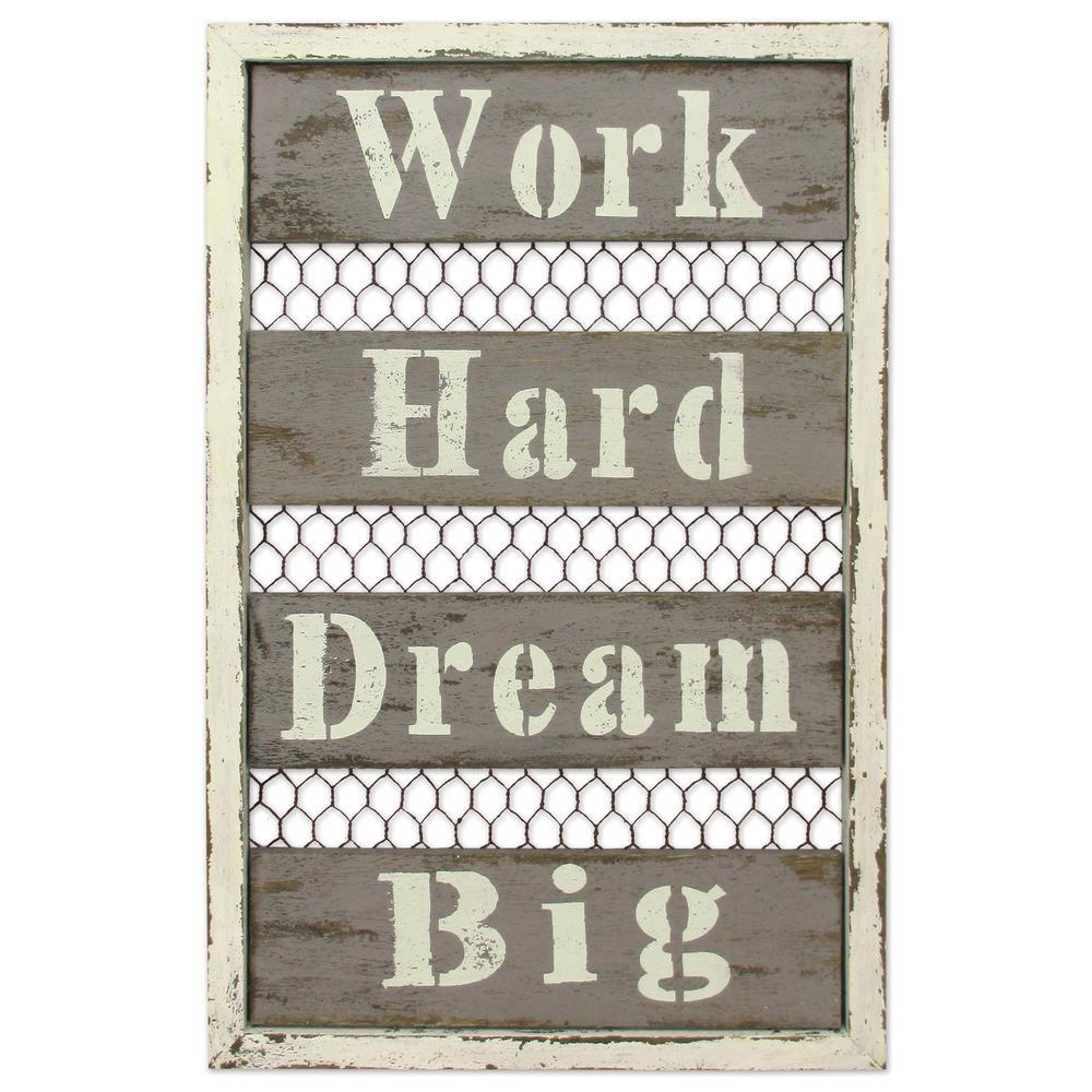 18 in. Dream Big Sign