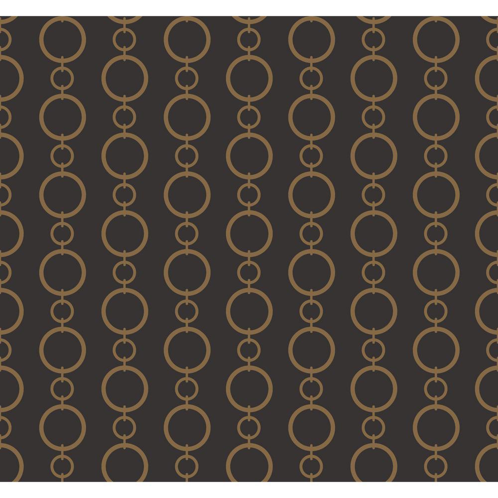 Waverly Stripes Chain Stripe Wallpaper