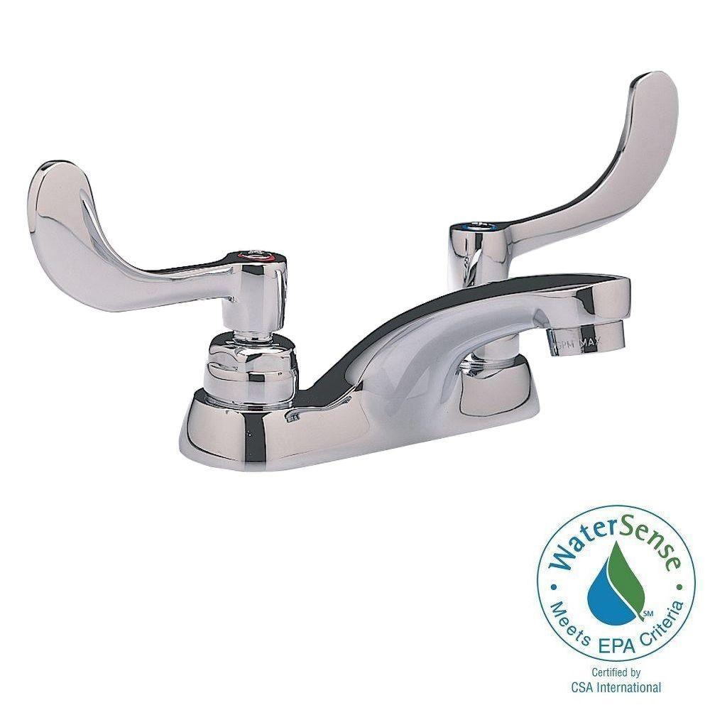 American Standard Monterrey 4 in. Centerset 2-Handle Bathroom Faucet in Polished Chrome