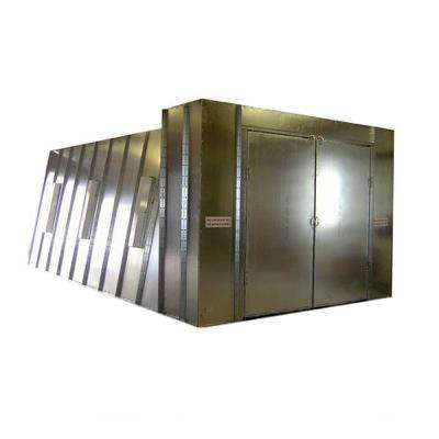 14 ft. x 10 ft. x 26 ft. Reverse Flow Crossdraft Spray Booth with Exhaust Duct and UL Control Panel in Pacific Region
