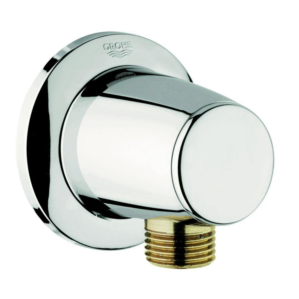 Movario Wall Union in Polished Nickel InfinityFinish
