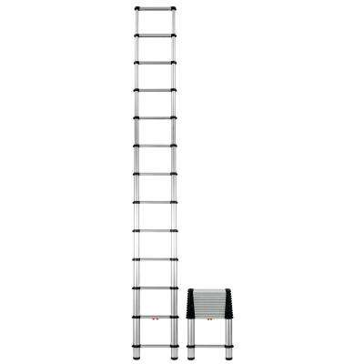 12.5 ft. Aluminum Telescoping Extension Ladder Osha Compliant