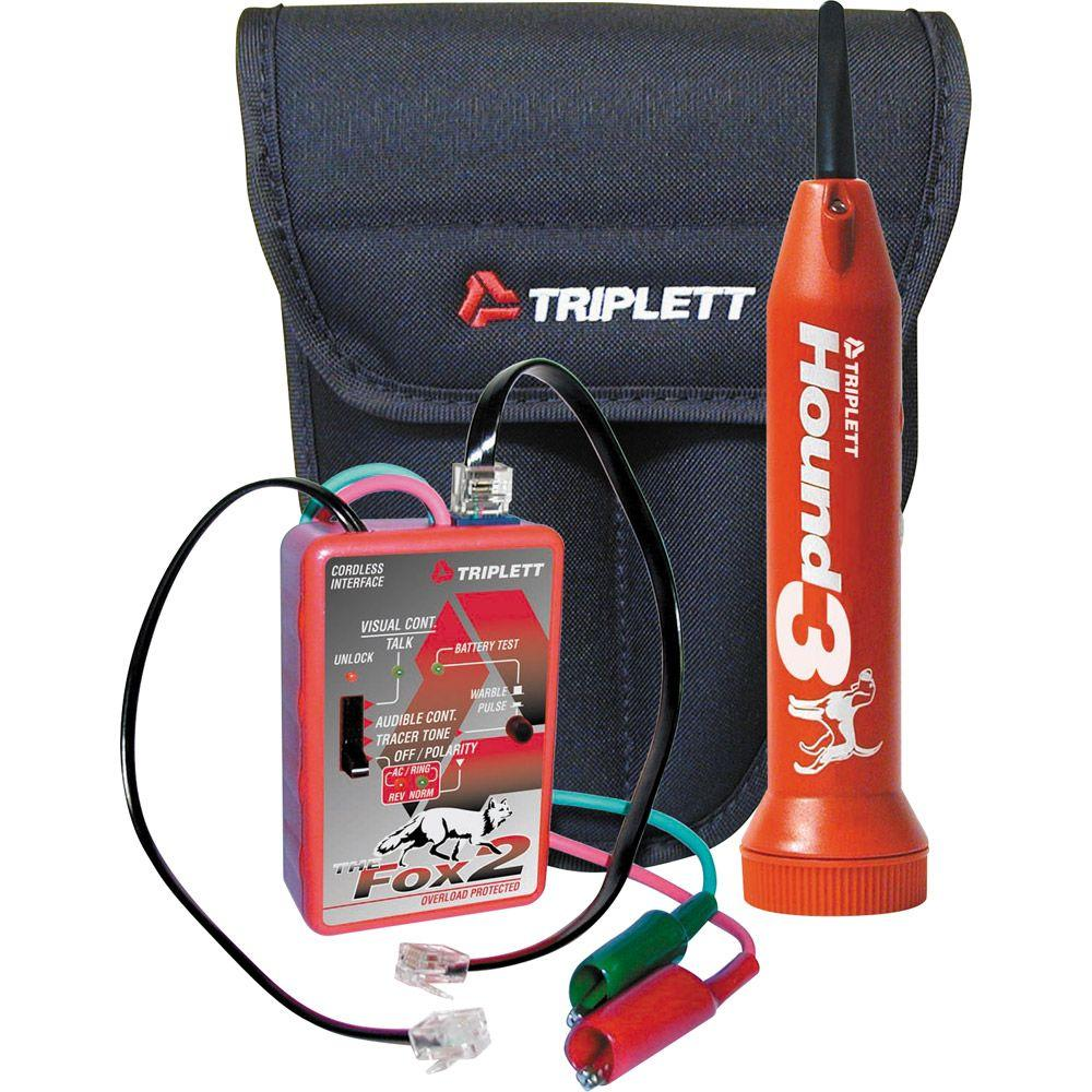 Triplett Fox 2 Hound 3 Wire Tracing Kit with Carrying Case