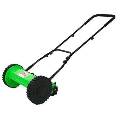 Lawn Demon 12 in. 5-Blade Height Adjusting Push Reel Mower