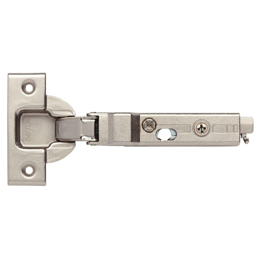 Liberty 35 Mm 120 Degree Half Overlay Soft Close Cabinet Hinge (1 Pair