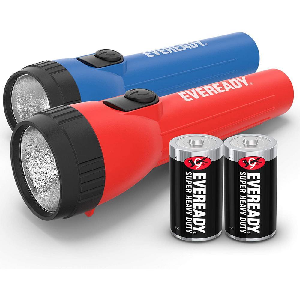 LED Economy Flashlight (2-Pack)