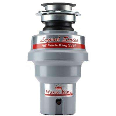 Legend Series 1/2 HP Professional 3-Bolt Mount Continuous Feed Compact Garbage Disposal