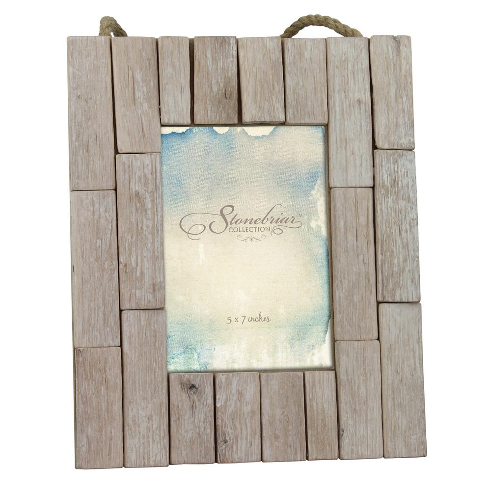 Stonebriar Collection 1 Opening 5 In X 7 In Driftwood Picture