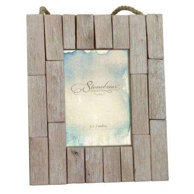 1 Opening 5 in. x 7 in. Driftwood Picture Frame