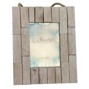 Stonebriar Collection 1 Opening 5 inch x 7 inch Driftwood Picture Frame by Stonebriar Collection