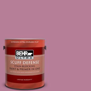 Behr Ultra 5 Gal M100 3 Svelte Satin Enamel Interior Paint And Primer In One 775405 The Home Depot