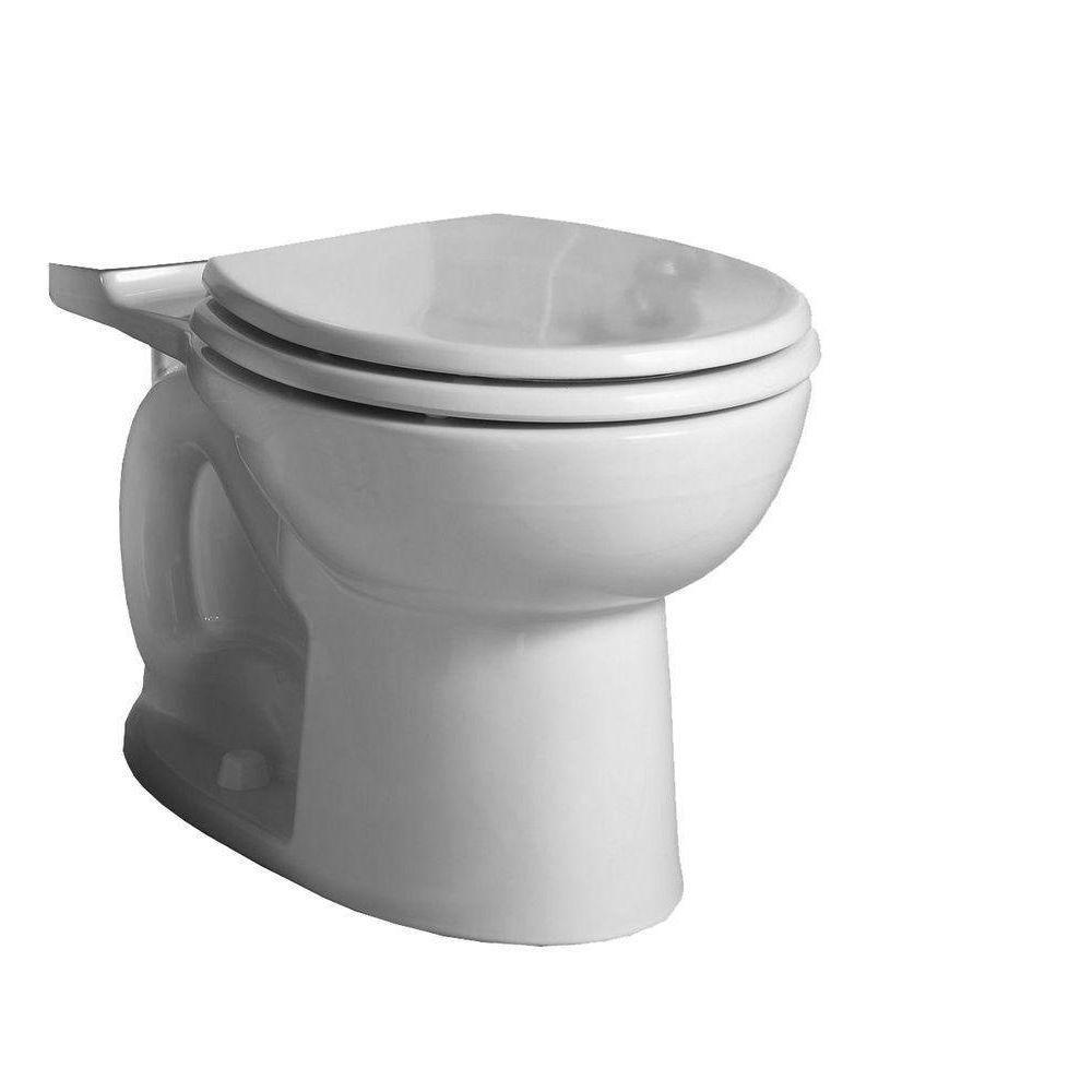 American Standard Cadet 3 FloWise Round Toilet Bowl Only in White