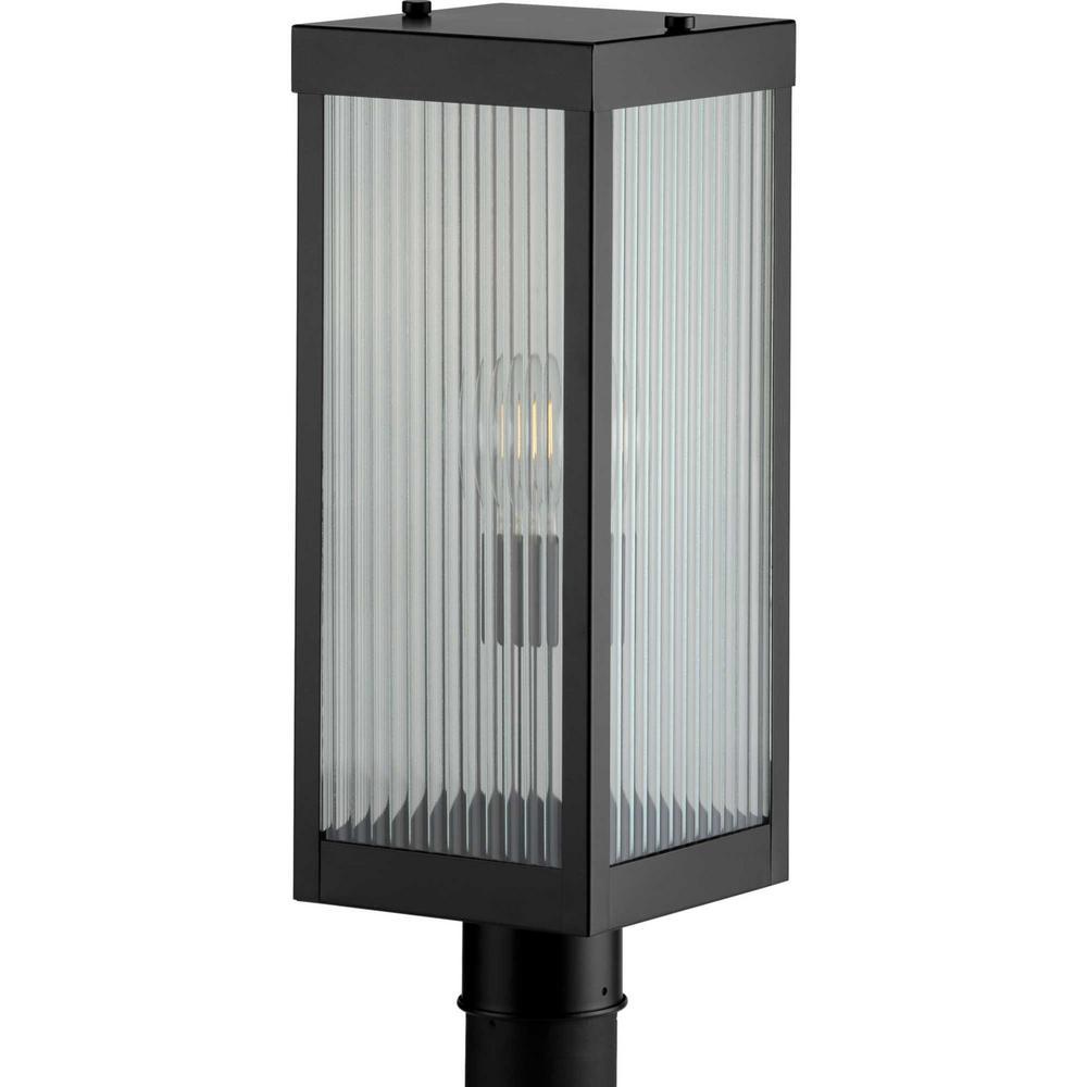 Felton Collection Black 1-Light Post Lantern