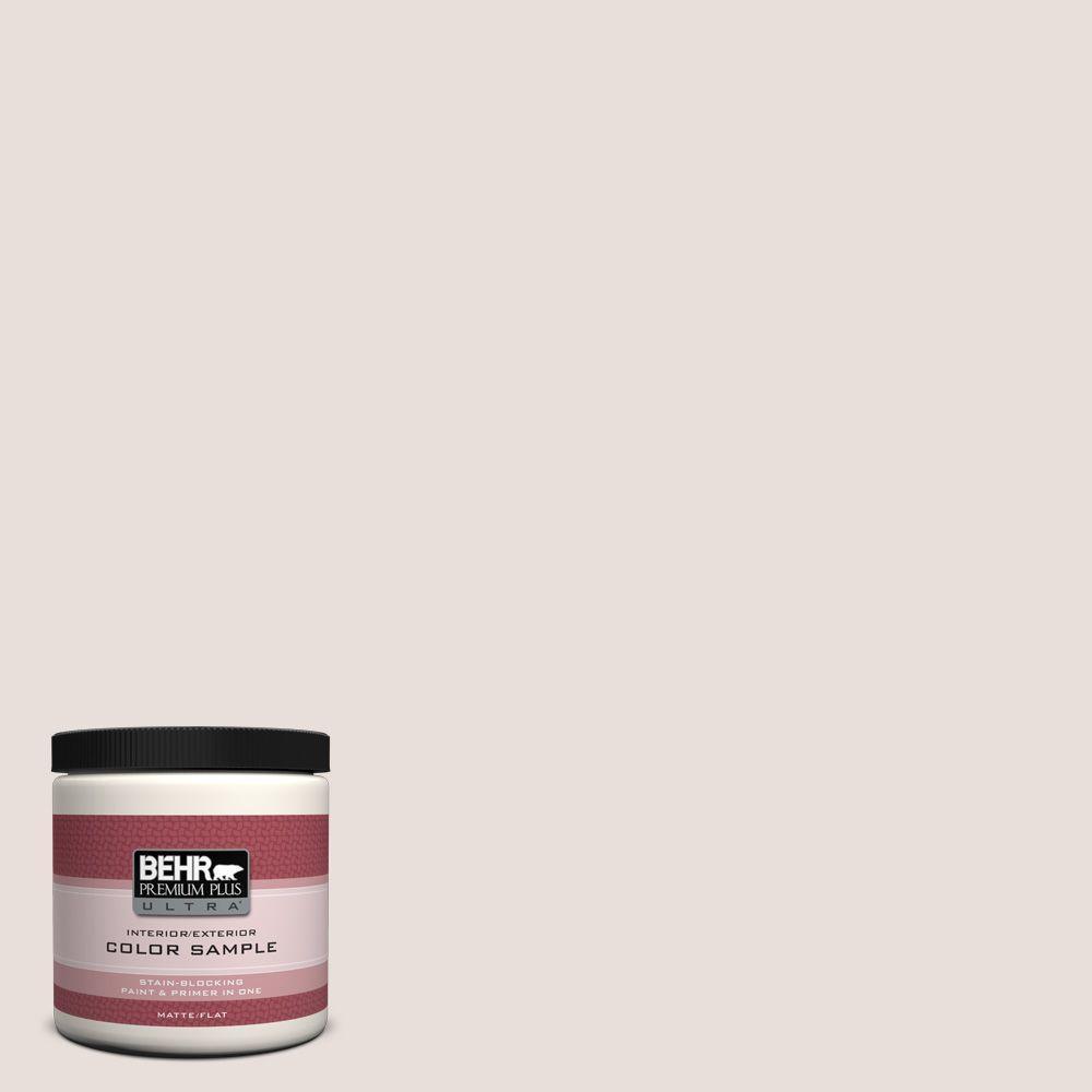 BEHR Premium Plus Ultra 8 oz. #ECC-58-2 Earthly White Interior/Exterior Paint Sample