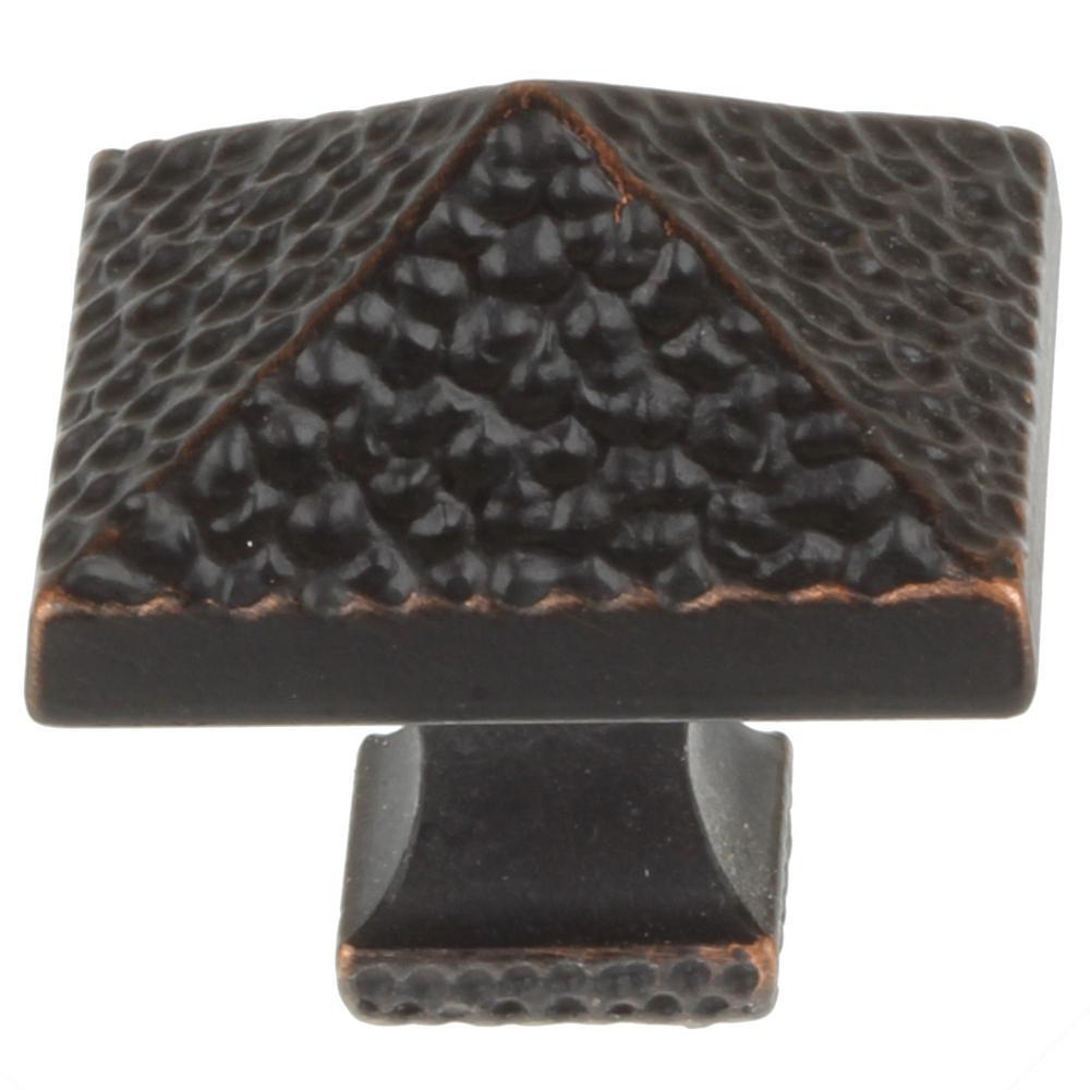 Gliderite 1 1 8 In Oil Rubbed Bronze Hammered Pyramid