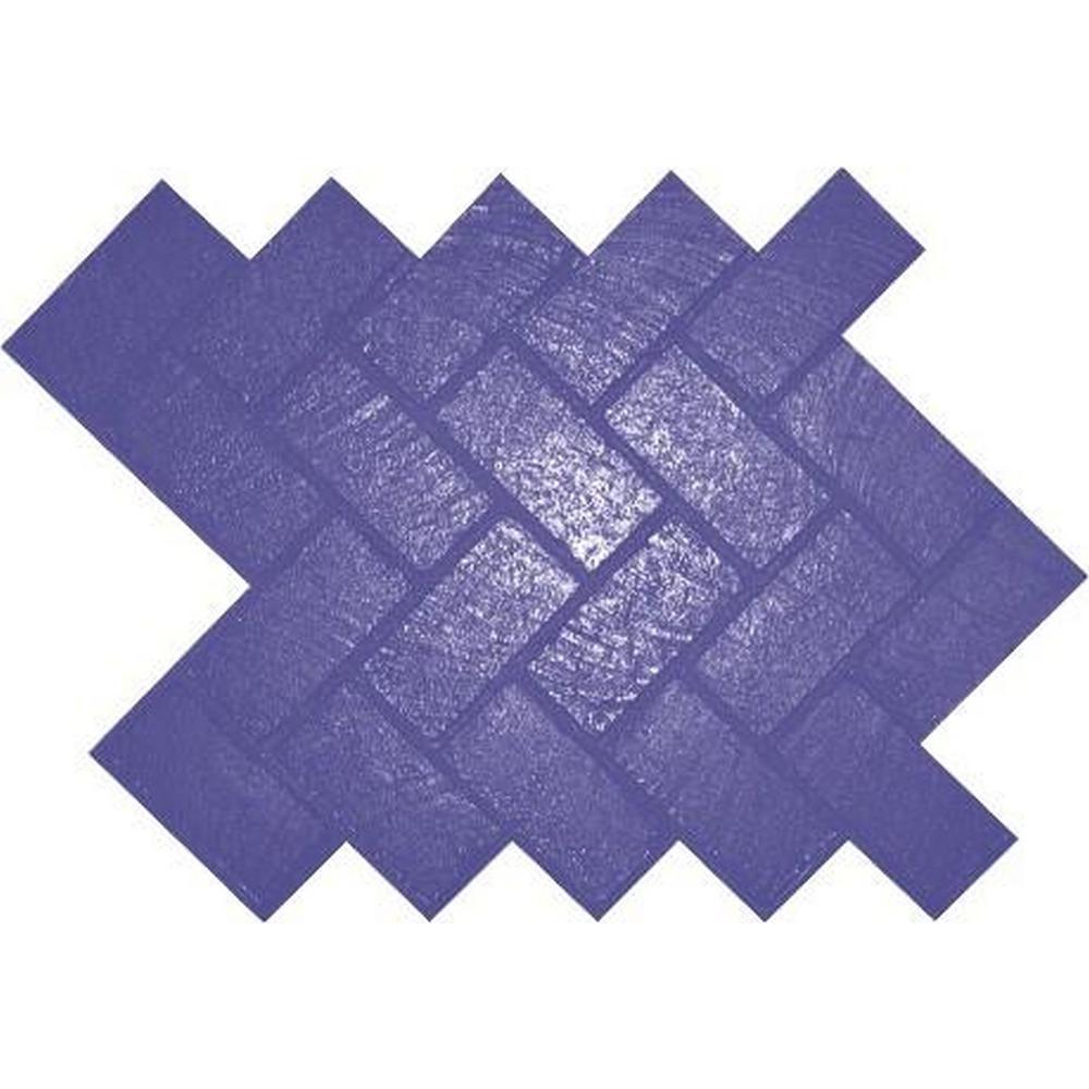 New Herringbone Brick design concrete stamp