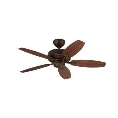 Centro Max II 44 in. Roman Bronze Ceiling Fan