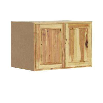 Madison Assembled 36x24x24 in. Wall Deep Cabinet in Hickory
