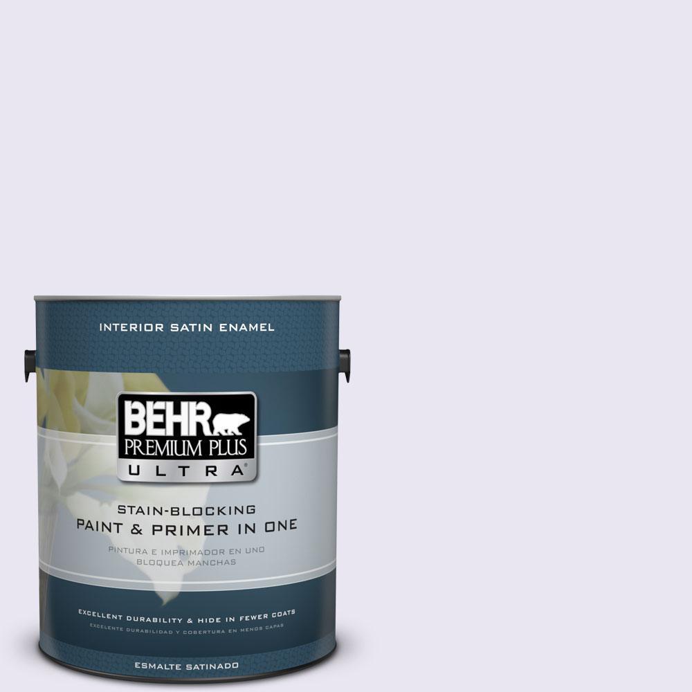 BEHR Premium Plus Ultra 1-gal. #650C-1 Pixie Wing Satin Enamel Interior Paint