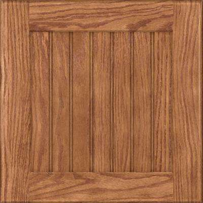 15x15 in. Cabinet Door Sample in Wilmington Oak in Fawn