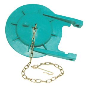 3 in. Premium Toilet Tank Flapper for Toto in Teal