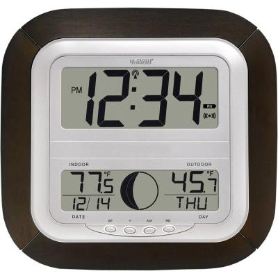 Digital Wireless Atomic Clock with Moon Phase