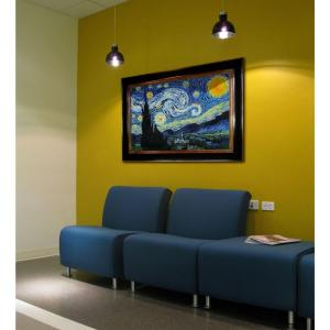 24 inch x 36 inch Starry Night Hand Painted Classic Artwork by
