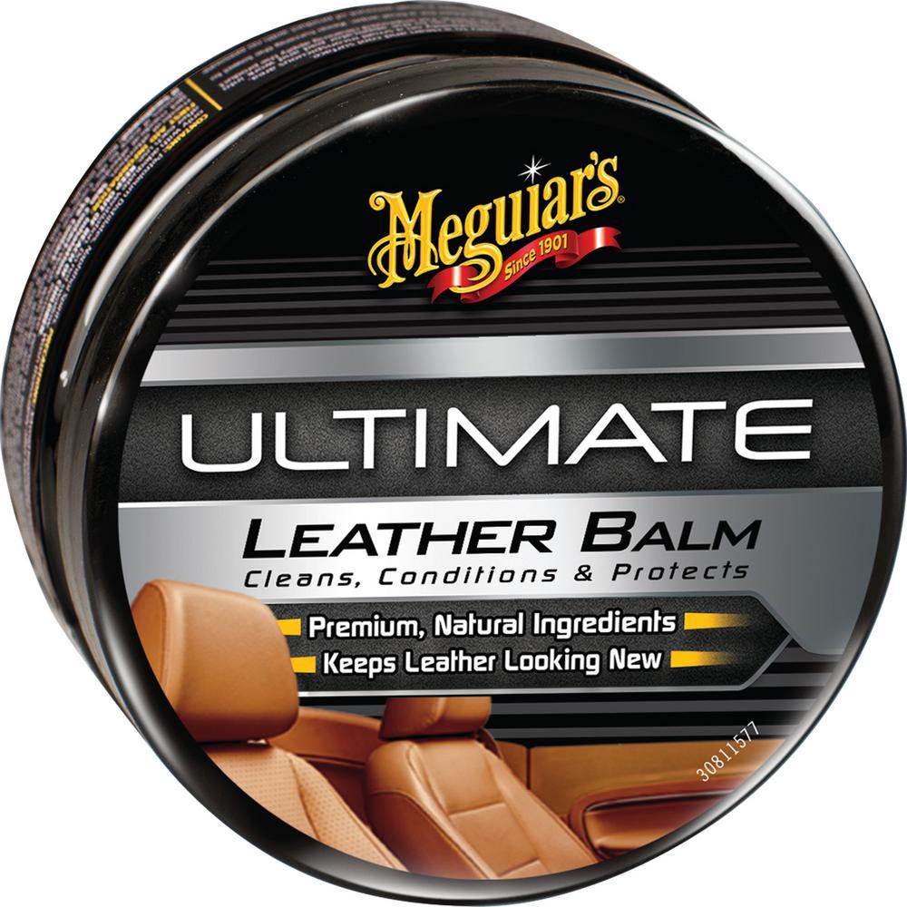 Meguiar\'s 5.64 oz. Ultimate Leather Balm-MI01182 - The Home Depot