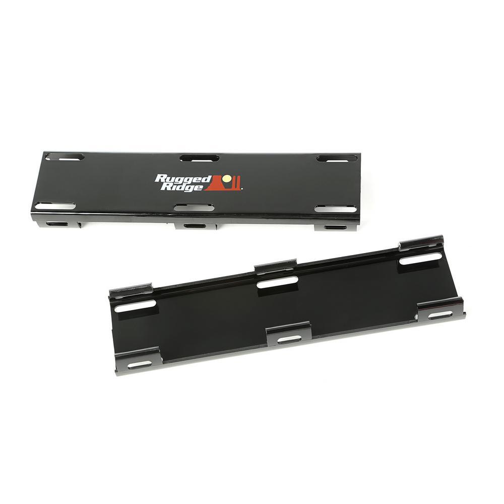 LED Light Bar Cover Kit in Black