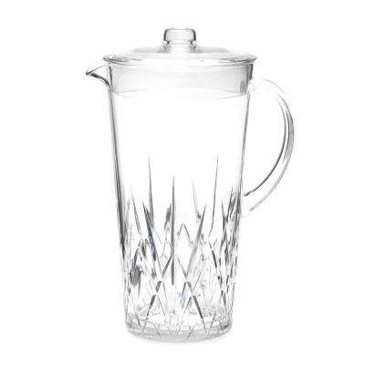 Aurora Crystal 2.1 Qt. Pitcher in Clear