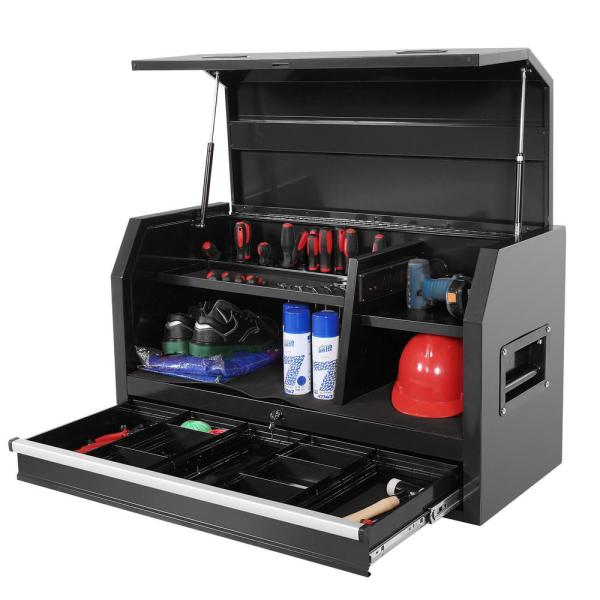 42 in. 1-Drawer Top Tool Chest in Black