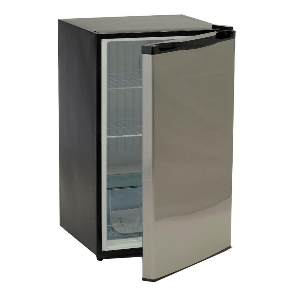 Bullet 4.5 cu. ft. Mini Fridge in Stainless Steel