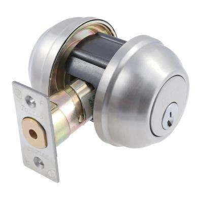 Platinum Series Malaga Double Cylinder Satin Grade 2 Deadbolt
