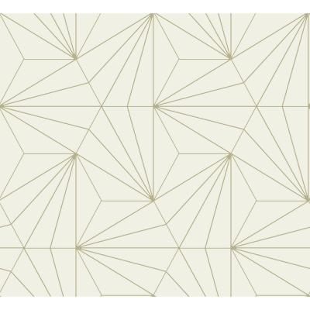 Luzon Cream Geometric Wallpaper