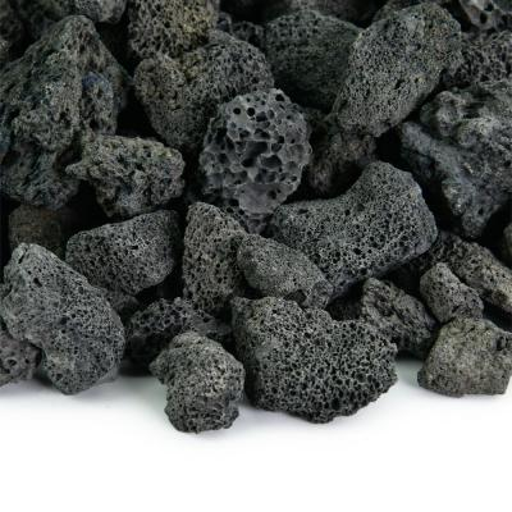 10 lbs. of Black 3/4 in. Lava Rock