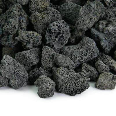 10 lbs. of Black 3/4 in. Lava Rock