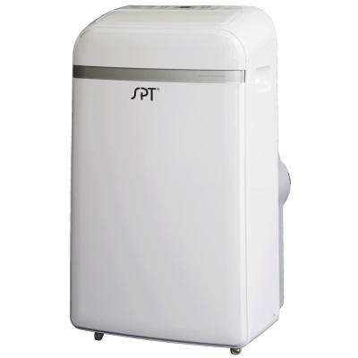 14,000 BTU Portable Air Conditioner with Dehumidifier in White