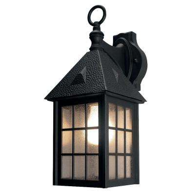 Belmont Black Outdoor Wall-Mount Lantern