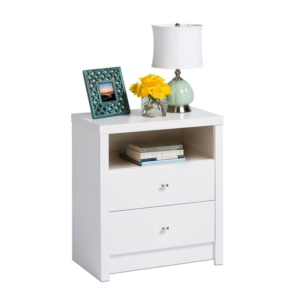 stunning white lacquer nightstand furniture. Brilliant Lacquer Calla 2Drawer White Nightstand On Stunning Lacquer Furniture M