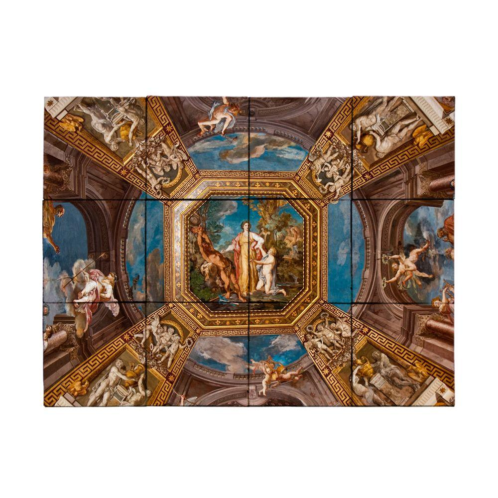 Tile My Style Vatican 24 in. x 18 in. Tumbled Marble Tiles (3 sq. ft. /case)