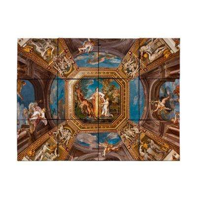 Vatican 24 in. x 18 in. Tumbled Marble Tiles (3 sq. ft. /case)