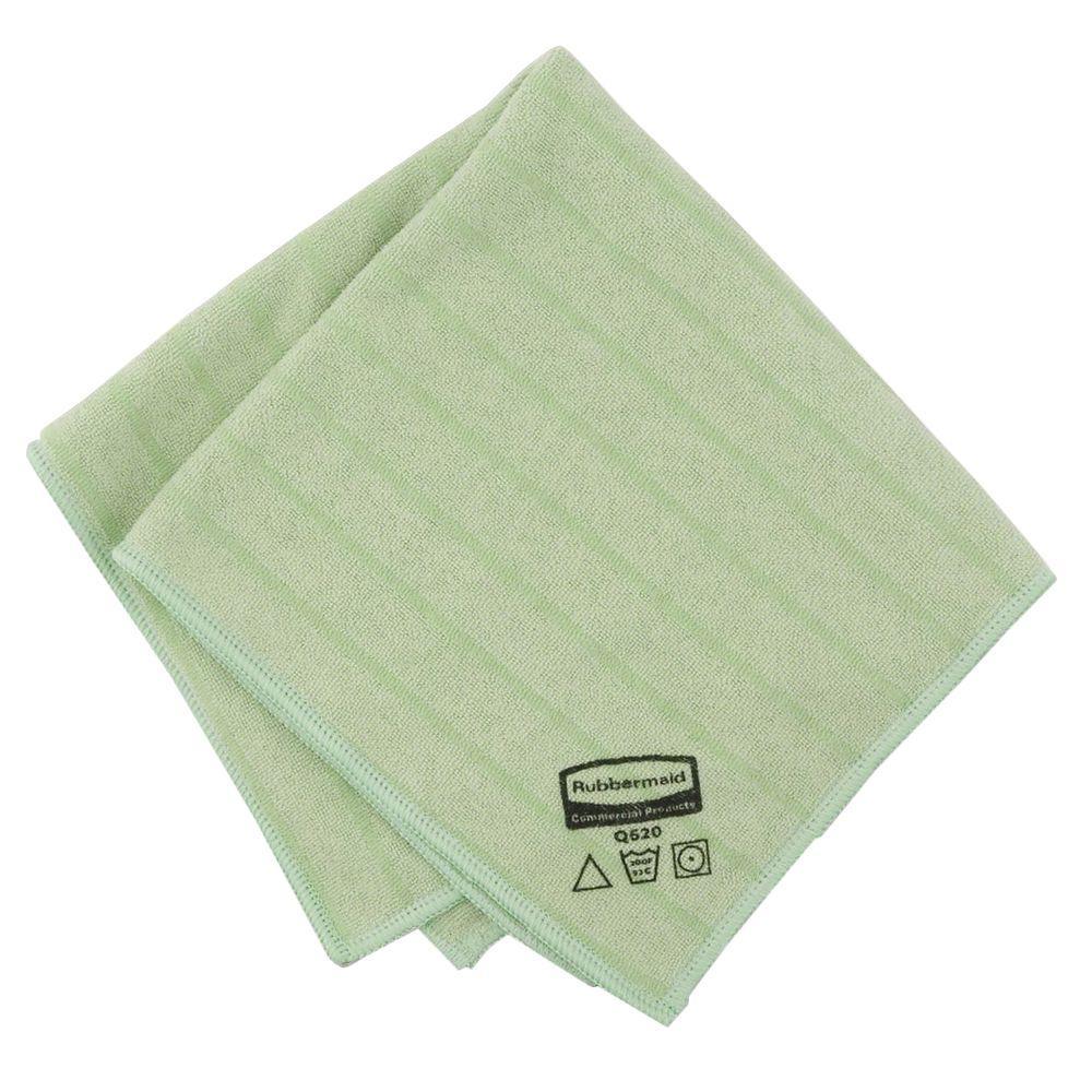 Rubbermaid Hygen 16 in. x 16 in. Blue Microfiber General Purpose Cloth (12-Pack)