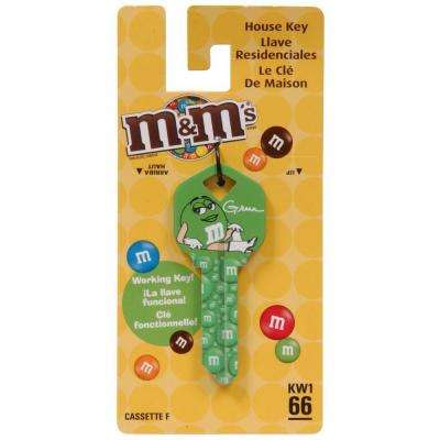M&M's Blank House Key