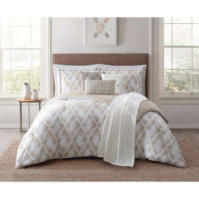 Kennedy 7-Piece Purple King Comforter Set