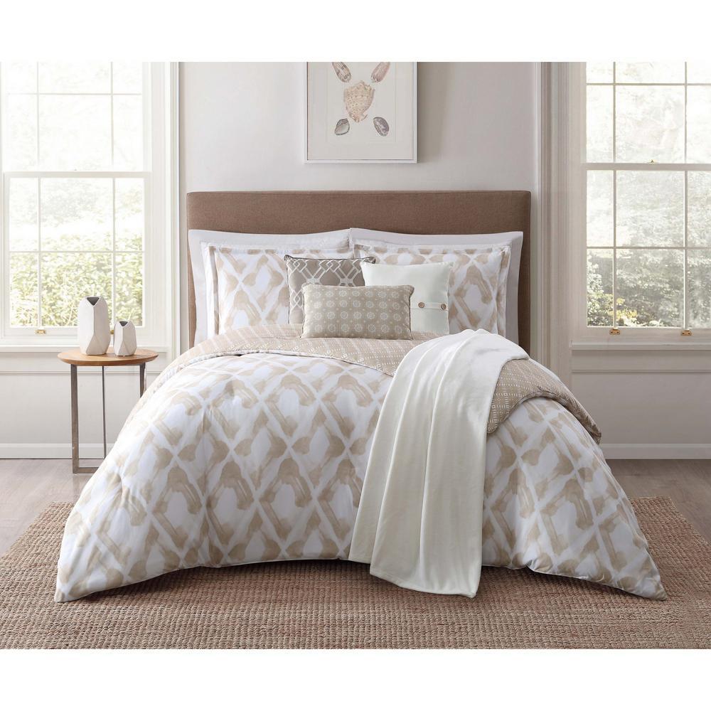 Kennedy 7-Piece Purple King Comforter Set