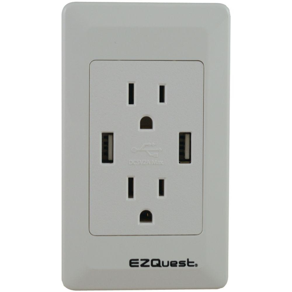 ezquest plug nu0027 charge usb wall socket