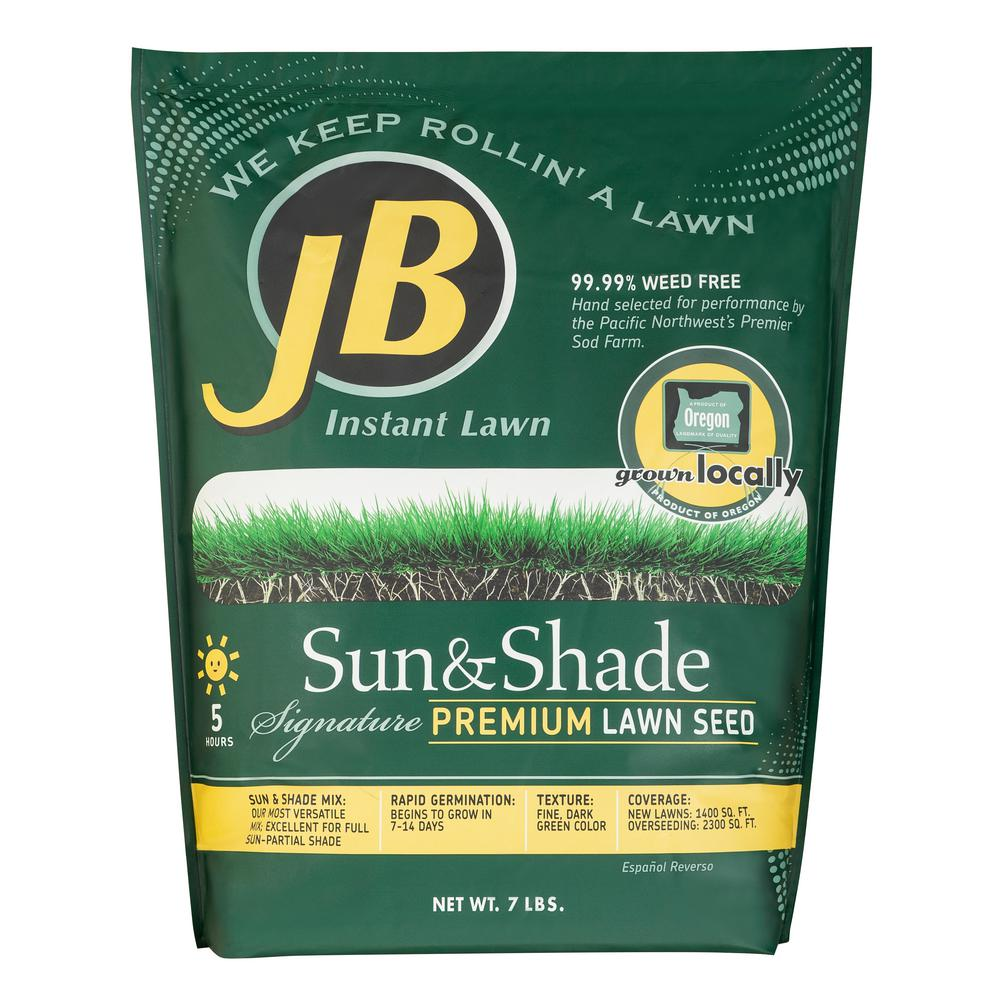 JB 7 lb. Sun and Shade Grass Seed