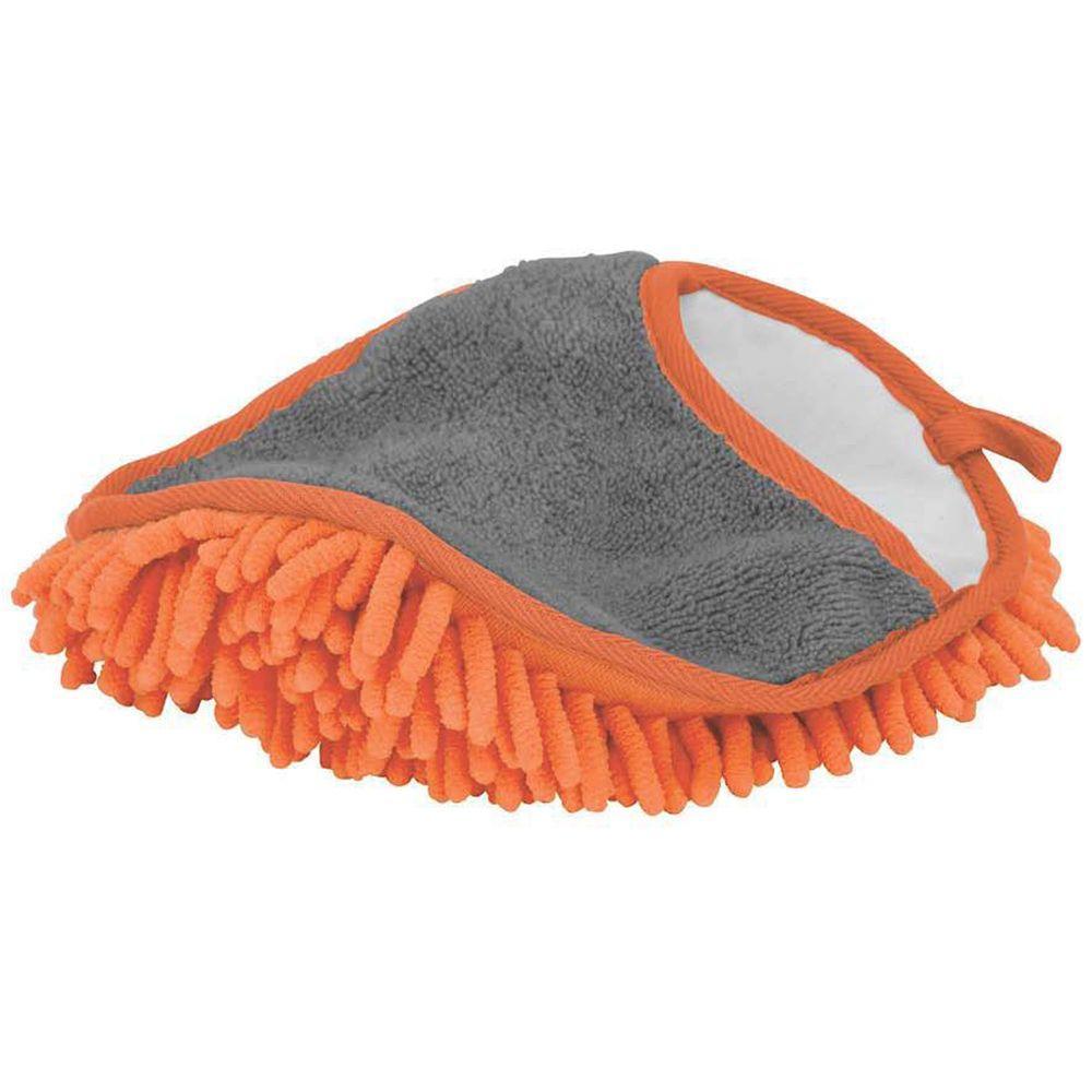 hdx microfiber dusting mitt 972080 the home depot