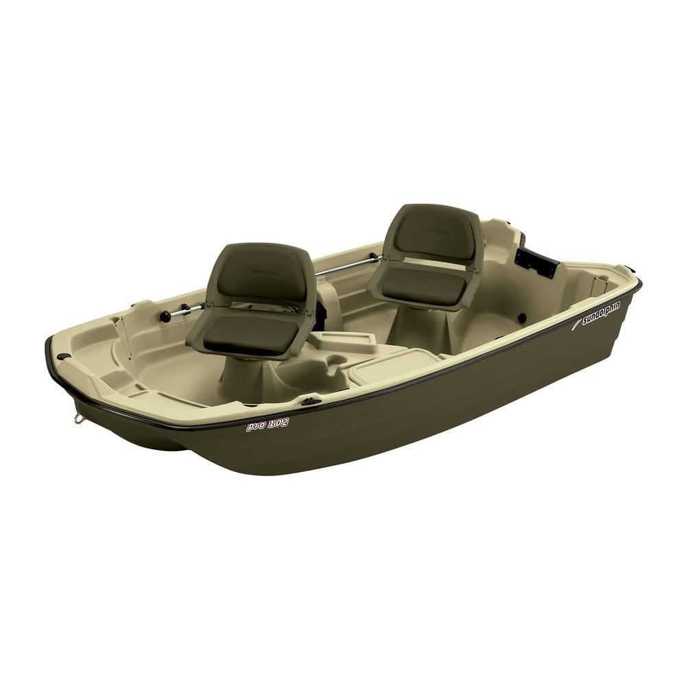 Sun Dolphin Pro 10.2 ft. Fishing Boat