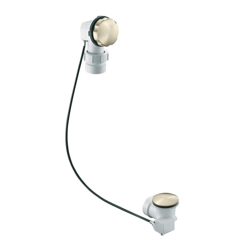 KOHLER Clearflo 1.5 in. Cable Bath Drain in Vibrant Brushed Nickel
